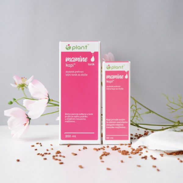 Mamine kapi i tonik za više mlijeka kod dojenja
