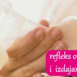 refleks otpuštanja mlijeka kod izdajanja
