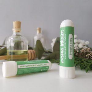 Inhalator za dišne puteve s eteričnim uljima