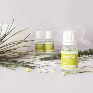 Mješavina eteričnih ulja za olakšavanje disanja