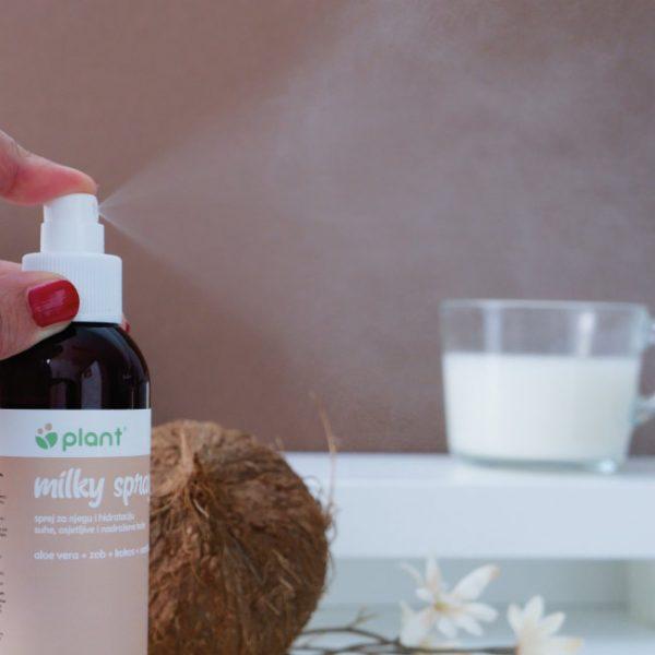 Mlijeko u spreju za hidrataciju osjetljive i nježne kože